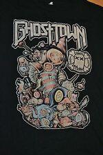 Ghost Town Band Electronicore Electronic Rock T Shirt 2XL XXL XL Haunted Youth