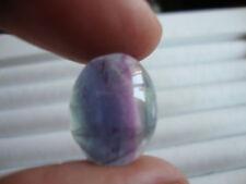 Fluorite multi color 18,0 Ct. Gemma Taglio Ovale Cabochon Calibrate.