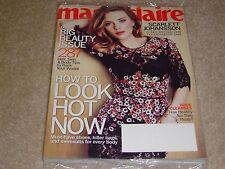 SCARLETT JOHANSSON * BIG BEAUTY ISSUE May 2013 MARIE CLAIRE MAGAZINE NEW SEALED