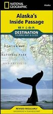 Alaska Inside Passage National Geographic Touring Map & Guide Waterproof