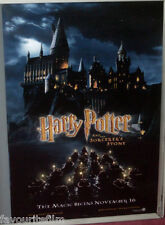 Cinema Poster: HARRY POTTER PHILOSOPHER'S/SORCERERS STONE (US Advance One Sheet)