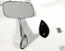 1968 - 1974 Corvette Outside Mirror. Left Hand ( Drivers Side ). New!!
