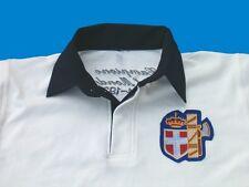 Polo manga corta CAMPIONI LA MUNDO 1934-38 RUGBY Avana camiseta ITALIA SABOYA