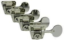 HIPSHOT HB2 Bass Guitar Tuners for FENDER Bass, Lollipop Keys, Nickel HB-2