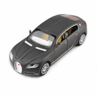 Bugatti Veyron Vehicle Model 1/32 scale Grey Diecast Miniature Car Toy In Stock