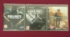 Call Of Duty Games X 3 PS3 Blops 1&2 Modern Warfare 2