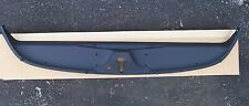 1984-1996 CORVETTE C4 REAR CENTER WINDOW HATCH CENTER TRIM PANEL OEM GM