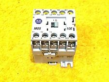 ***PERFECT** ALLEN BRADLEY 100-MO5NZ*3 SERIES A 12 AMP 3-POLE 600 VOLT CONTACTOR