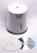 CD Rohlinge NMC CD-R in Cakebox, weiß printable XXL, Wide printable 100 StK.