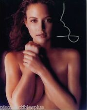 Josie Maran Signed Topless Color 8x10 Photo With COA