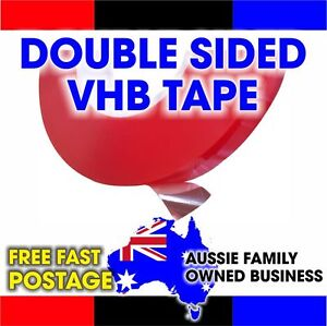Double Sided Tape Tesa equivalent VHB Clear (0.2mmx25mmx50m)