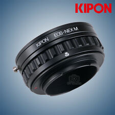 Kipon Adapter with Focus Helicoid for Canon EOS Mount Lens to Sony E NEX A7R2