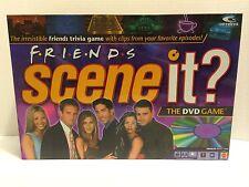 Scene It DVD Trivia Game - Friends TV Sitcom - 2005 - 100% Complete - EUC