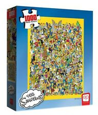 Usaopoly Collector's Puzzle, The Simpsons Cast 1000 pc Jigsaw Puzzle