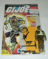 1985 GI Joe Mountain Climber Trooper Alpine v1 Figure Complete w/ File Card Back