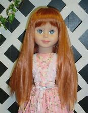 """Monique DOLL Wig """"Peggy Sue"""" Size 17/18 CARROT for 29"""" Betsy McCall, others"""