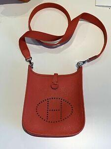 FULL SET HERMES Evelyne 16 TPM Mini Bag Bougainvillier