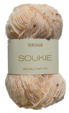 Sirdar Soukie DK Shiny Sparkle Sequin Knitting Wool Yarn 50g Gold Dust 171