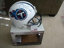 Justin Hunter Autographed Full Size Proline Helmet - PSA