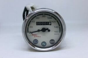 ROYAL ENFIELD BULLET SPEEDOMETER 0-160 Km/h WHITE DIAL FACE