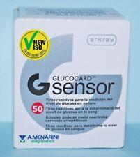 GLUCOCARD G SENSOR   50 TIRAS REACTIVAS