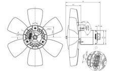 NRF Ventilador, refrigeración del motor VOLKSWAGEN PASSAT GOLF SEAT IBIZA 47429