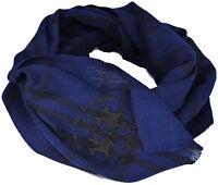 Sciarpa Uomo Donna Blu La Martina Scarf Men Woman Blue