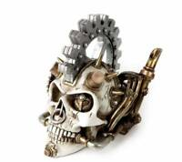 Steam head Skull - Alchemy Gothic Steampunk Vault V73