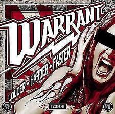 Louder Harder Faster von Warrant (2017)