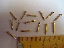 pointes laiton tête ronde 8 mm par 1,1 mm 30 gr