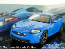 JAGUAR XKR-S MODEL CAR 1:43 SCALE FRENCH RACING BLUE COUPE IXO DEALER SPECIAL K8