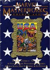 MARVEL MASTERWORKS GOLDEN AGE USA COMICS VOL 76 HARDBACK VARIANT COVER SEALED