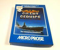 Silent Service - Micro Prose Commodore 64 C64 Original Spiel Cassette Boxed OVP