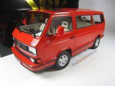 Volkswagen VW Bulli T3 Multivan Last Edition 1992 rojo 1 18 Kk-scale