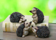 4th Small Resin Hedgehog Figurine (1 hedgehog only)