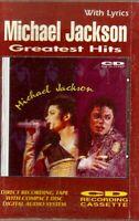 Michael Jackson Greatest Hits. With Lyrics Import Cassette Tape