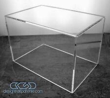 Teca 25x25 H variabile - Vetrina in plexiglass trasparente per Modellismo e Lego