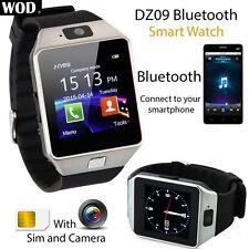 【DZ09】 Bluetooth Smart Watch Phone-Mate unterstützt GSM SIM für Android iPhone