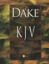 Dake's Annotated Reference Bible KJV Burgundy Bonded Leather BRAND NEW