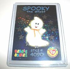 Ty S3 Rare 4090 Spooky The Ghost Silver Card Insert Only #44