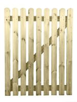 4ft  x 3ft Wide Wooden Picket Garden Gate High Quality Wood Handmade In Devon