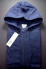 NWT Lacoste Men's Regular Fit Big Croc Navy Blue Cotton Hoodie Jacket M Eur 5