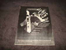 THE BOSTON STRANGLER 1968 Oscar ad Tony Curtis & LOU RAWLS in The Big Valley