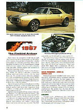 1967 Pontiac Firebird Article + VIN Decode - Must See !!