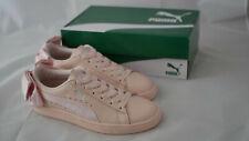 Puma Suede Basket Bow - Größe 38 - Sneaker mit Schleife - Rosa