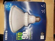"Cree bright white LED 90W floodlight bulb PAR38 ""NEW"""