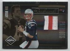 TOM BRADY,2010 Limited Team Trademarks 3-Color PATCH #21/50 New England Patriots