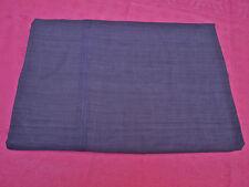 grande nappe carrée ancienne en lin /nappe de vigne /Bleu violet
