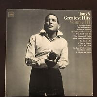 Tony Bennett - Tony's Greatest Hits Volume III 1965 Vinyl LP Record MINT