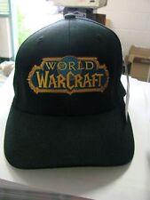 World of Warcraft  Black Ball Cap Hat  Small to Medium size Flex fit